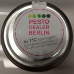 "Pesto Dealer Berlin ""wasabi sesam"" Deckel"